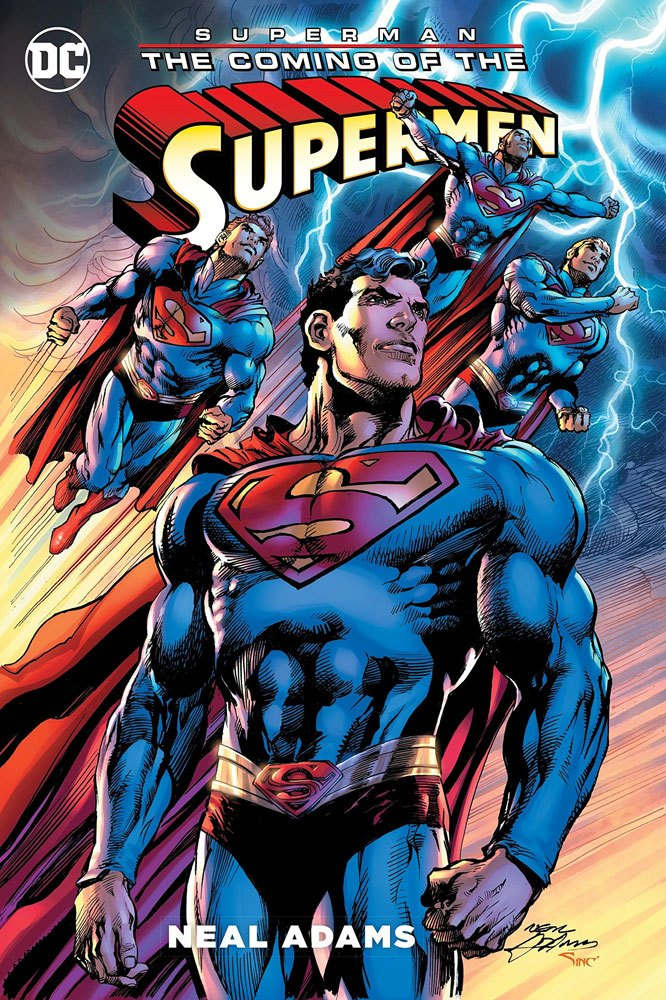 DC Comics Comic Book Superman The Coming of the Supermen by Neal Adams
