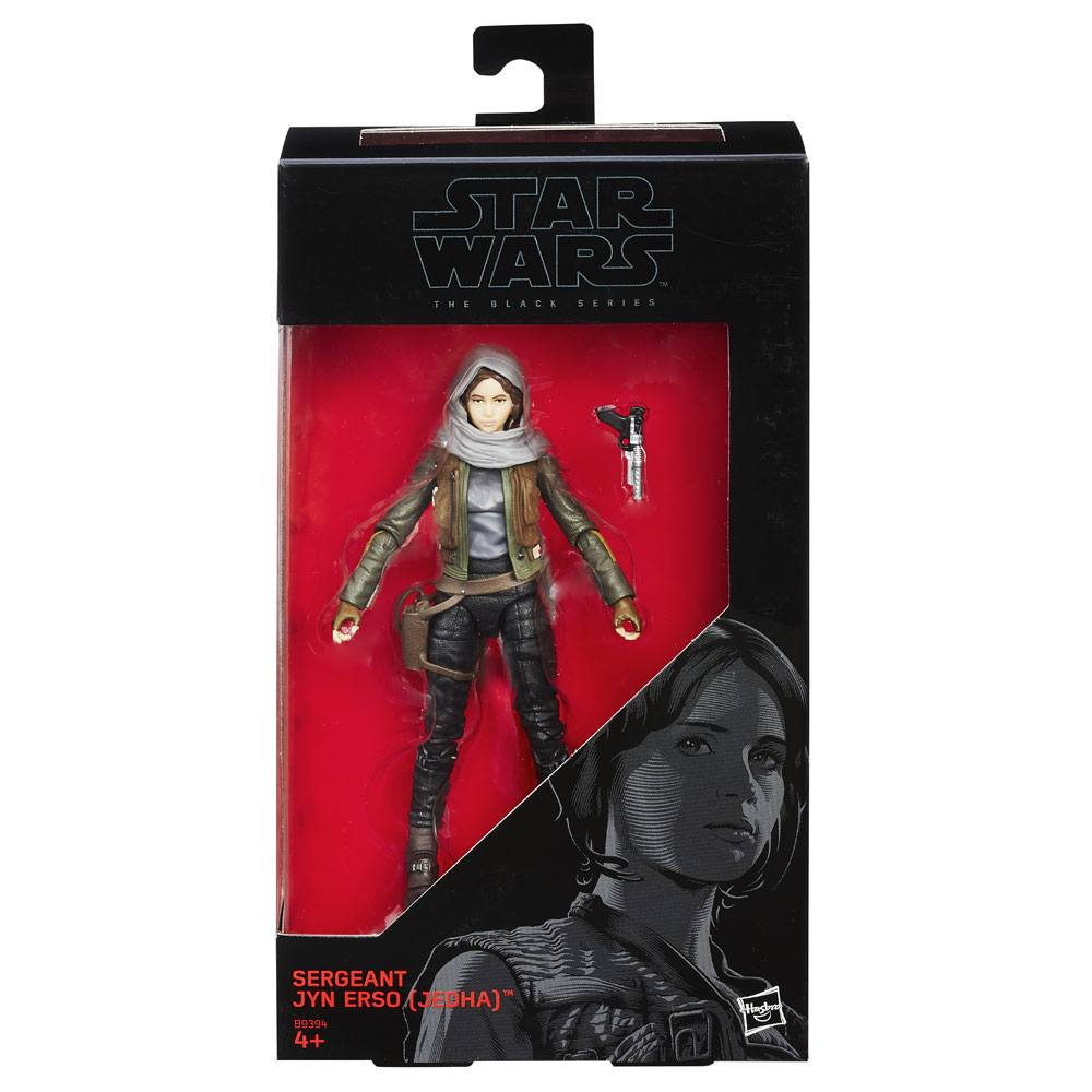Star Wars Black Series Action Figure #22 Sergeant Jyn Erso (Jedha) 15 cm