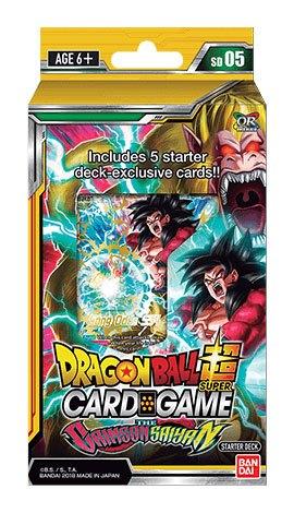 Dragonball Super Card Game Season 5 Starter Deck The Crimson Saiyan