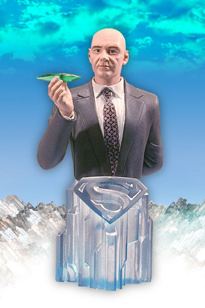 Superman Returns Lex Luthor Resin Bust 15 cm