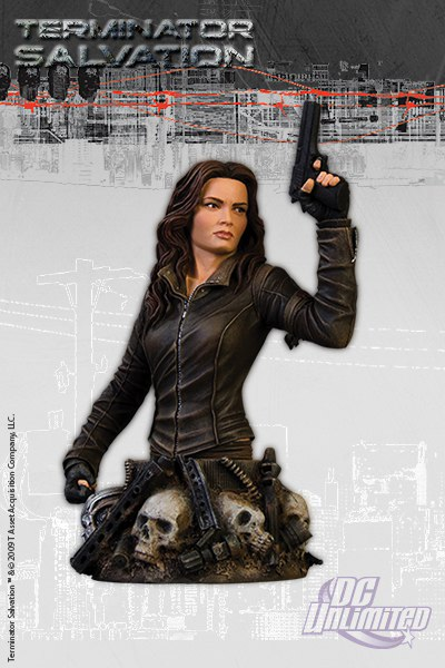 Terminator Salvation Blair Williams Resin Bust Limited Edition 15 cm