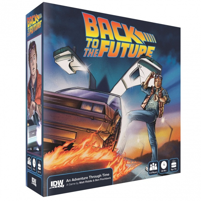 Back To The Future: Adventure Through Time Board Game