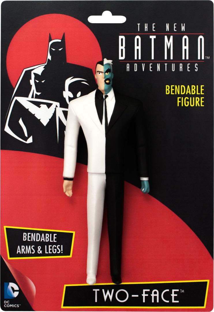 DC Comics: Two-Face The New Batman Adventures Bendable Figure 14 cm
