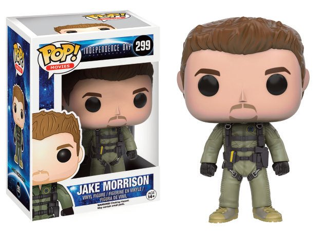 Independence Day 2 POP! Movies Vinyl Figure Jake Morrison 10 cm