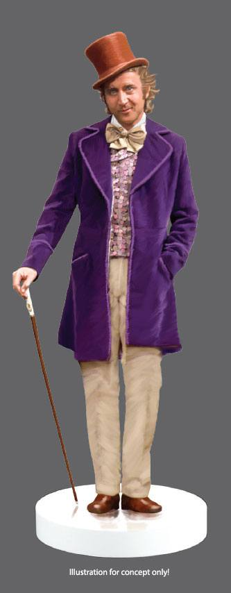 Willy Wonka & the Chocolate Factory (1971) Action Fig 1/6 Willy Wonka 30 cm