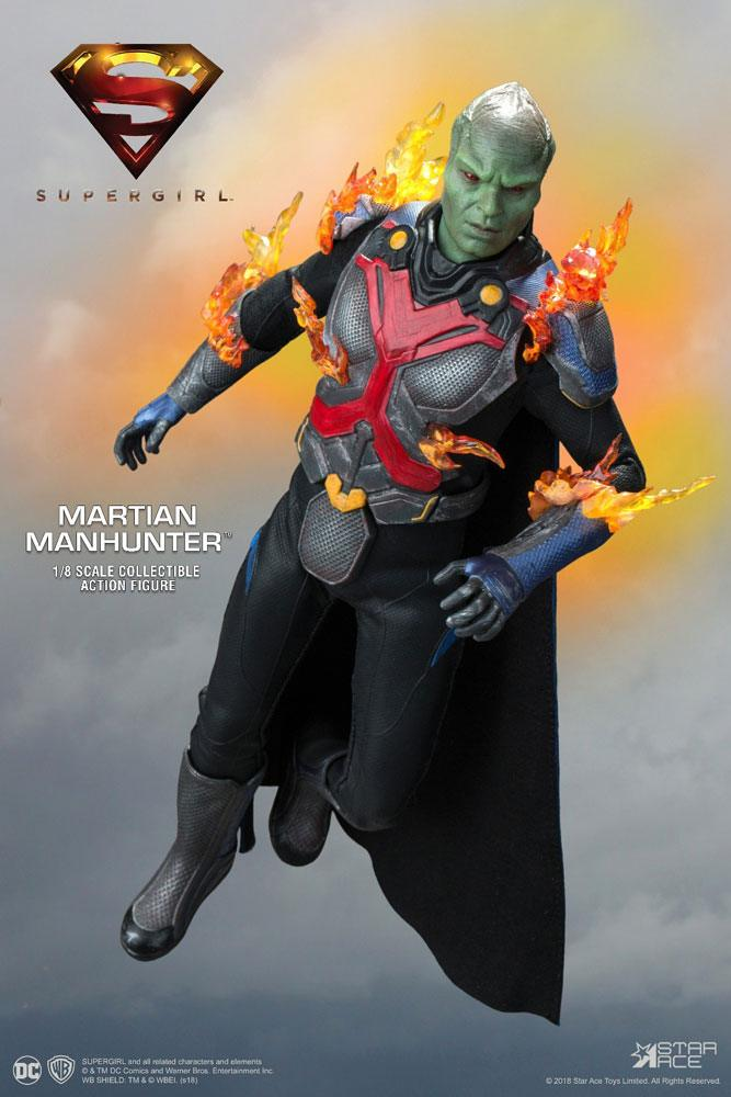 Supergirl Real Master Series Action Figure 1/8 The Martian Manhunter Deluxe