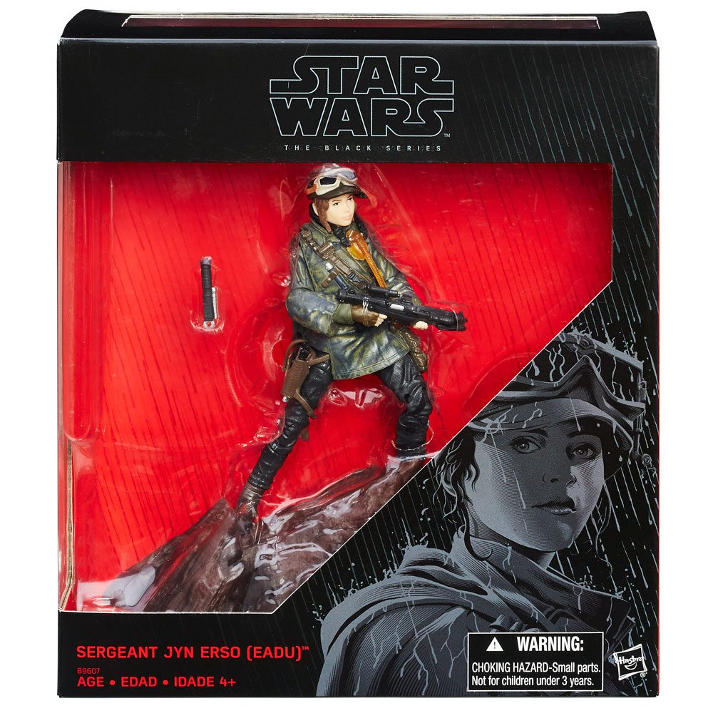 Star Wars Rogue One Black Series Action Figure Jyn Erso 2016 Exclusiv 15 cm