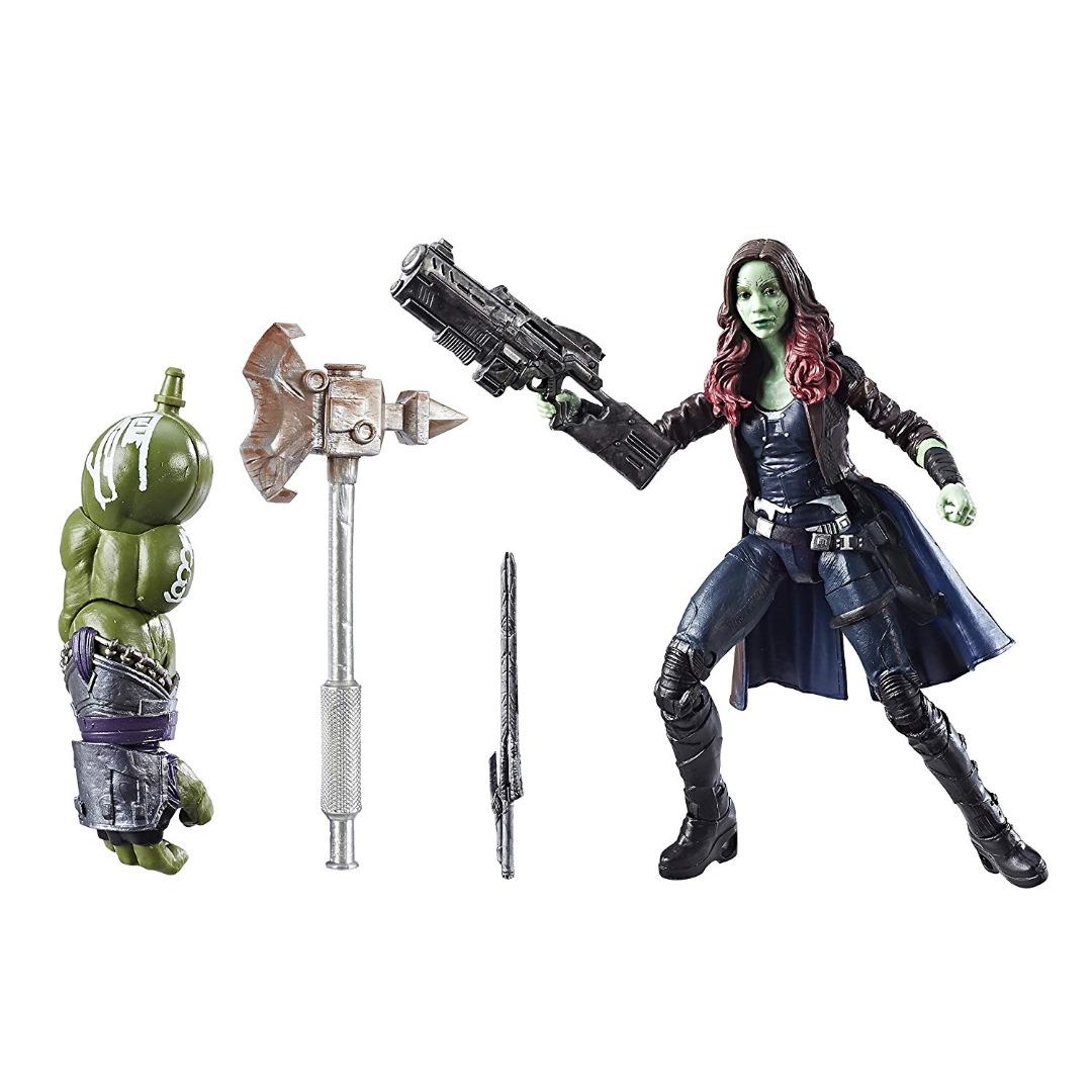 Action Figure Marvel Legends Séries Guardians of the Galaxy 2 Gamora 15 cm