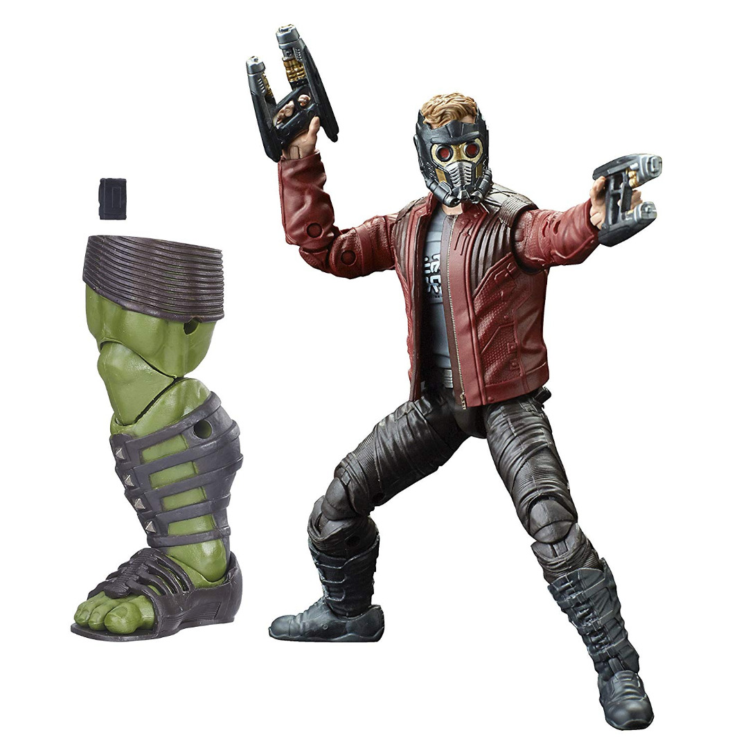 Action Figure Marvel Legends Séries Guardians of the Galaxy Star-Lord 15 cm