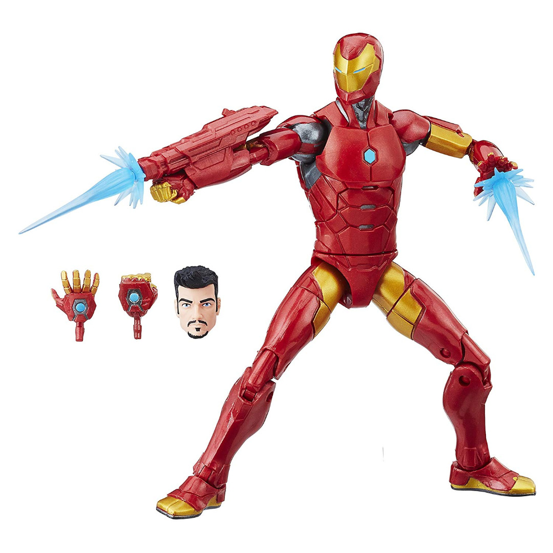 Action Figure Marvel Legends Séries Invincible Iron Man 15 cm