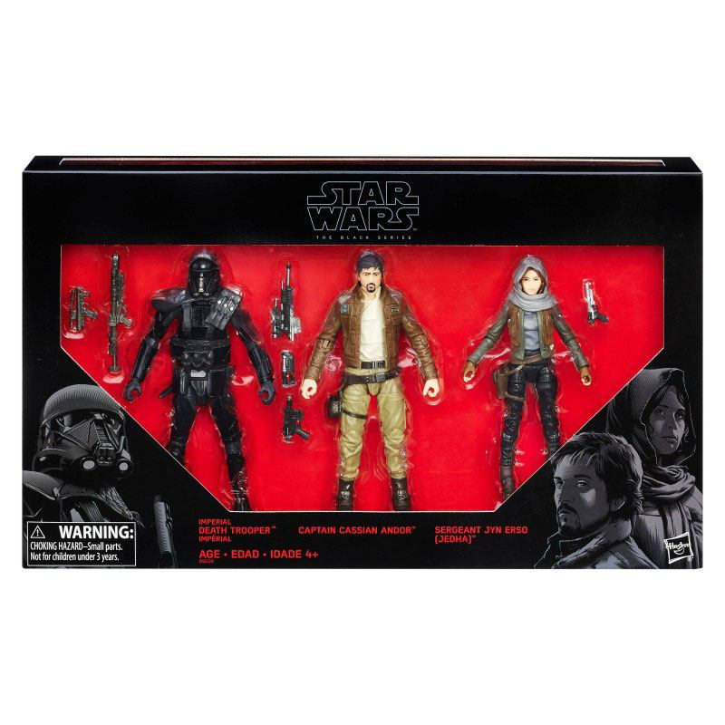 Star Wars Rogue One Black Series AF 3-Pack 2016 Rebels vs. Imperials Exclus
