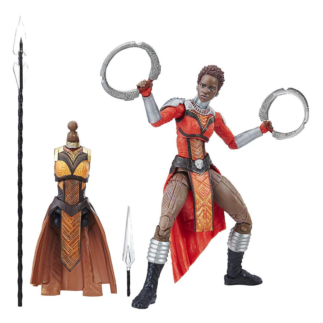 Action Figure Marvel Legends Séries Black Panther - Nakia 15 cm
