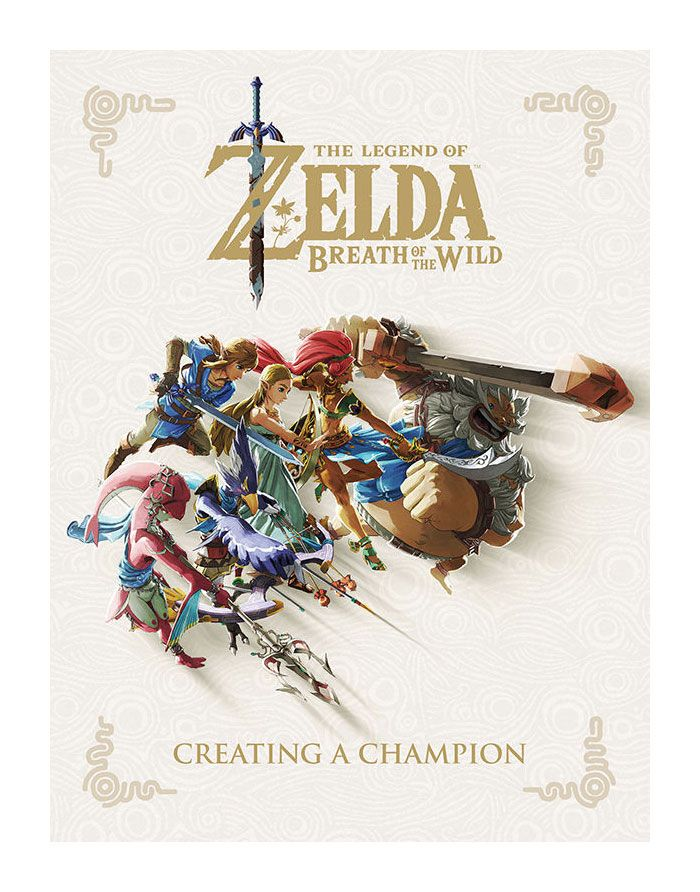Legend of Zelda Breath of the Wild Art Book Creating A Champion