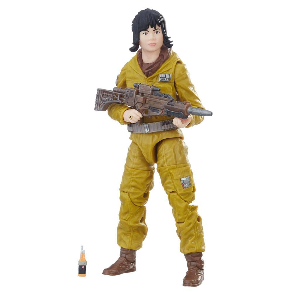 Star Wars Black Series Action Figures Resistance Tech Rose 15 cm