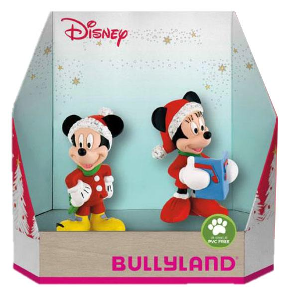 Disney Gift Box with 2 Figures Micky Christmas 8 - 10 cm