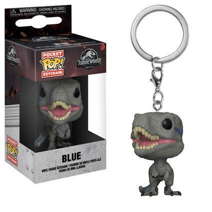 Jurassic World 2 Pocket POP! Vinyl Keychain Blue 4 cm