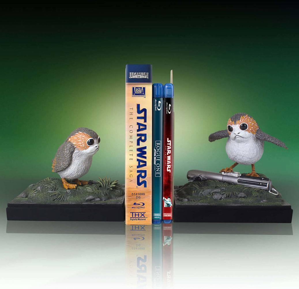 Star Wars Aparador / Bookends Porgs 30 cm