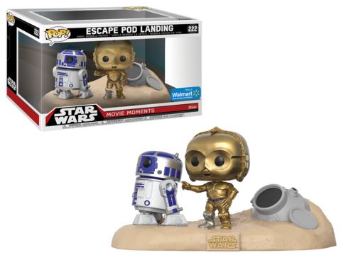 Star Wars POP! Movie Moments Vinyl Bobble-Head 2-Pack Escape Pod Landing