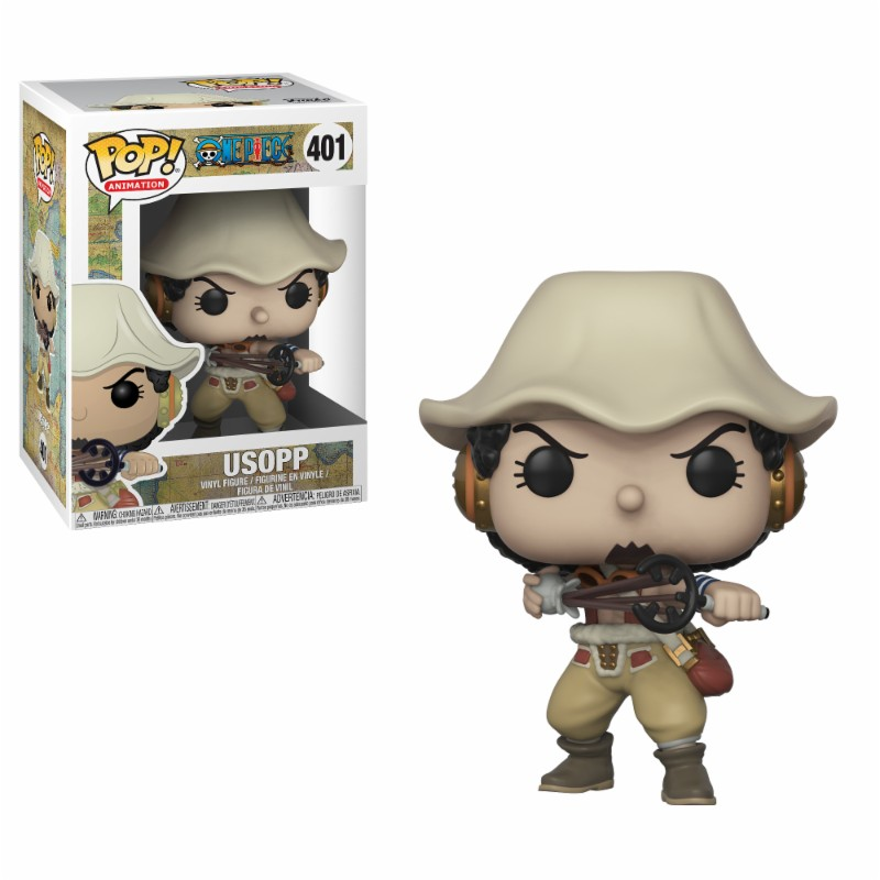 Pop! Anime: One Piece - Usopp Vinyl Figure 10 cm
