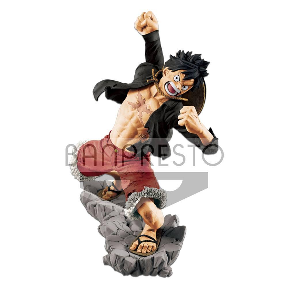 One Piece Figure Monkey D Luffy 20th Anniversary 13 cm