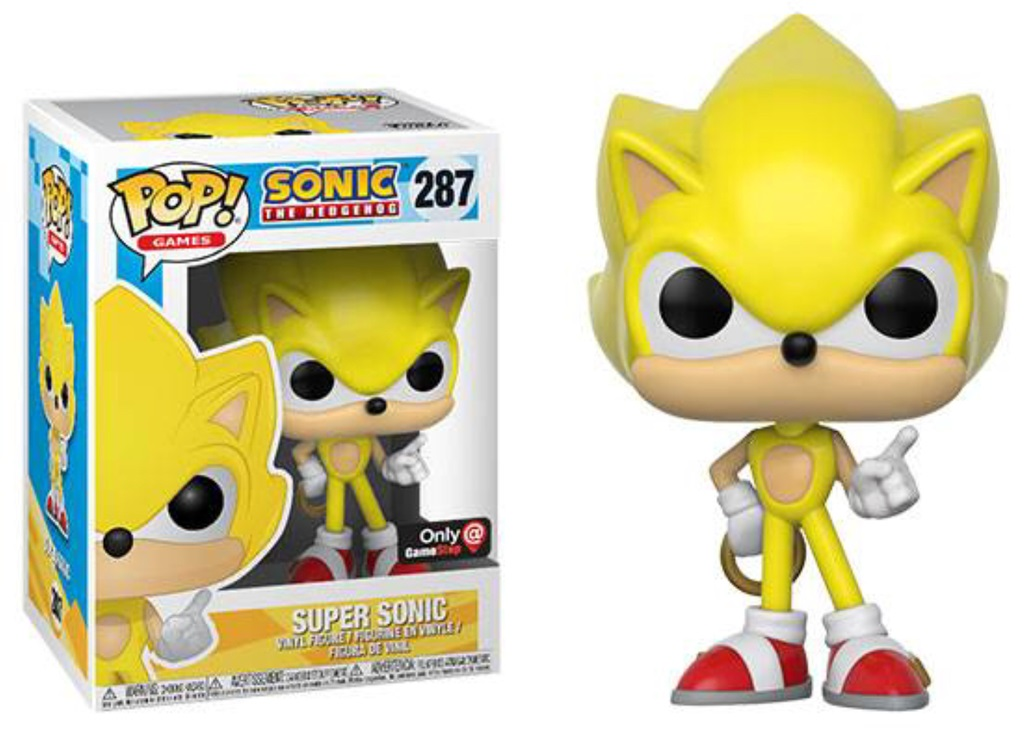 Pop! Games: Sonic - Super Sonic Exclusive Edition Vinyl Figure 10 cm