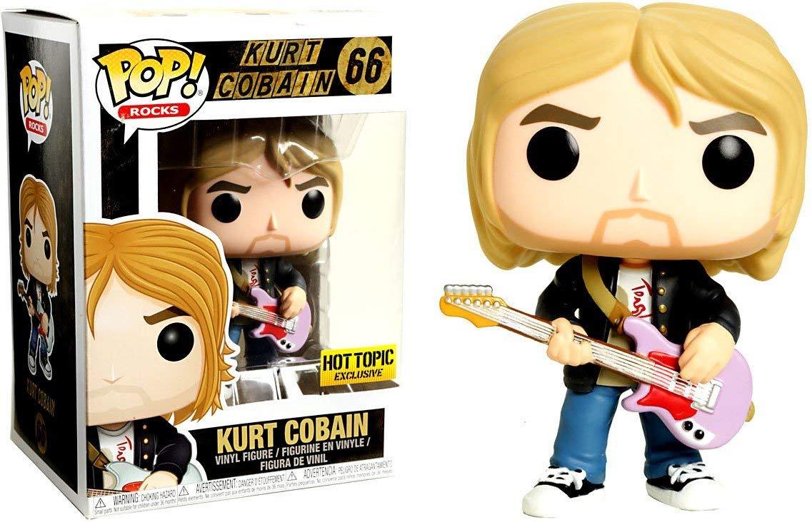 Pop! Music: Live and Loud Kurt Cobain Exclusive Edition Vinyl Figure 10 cm