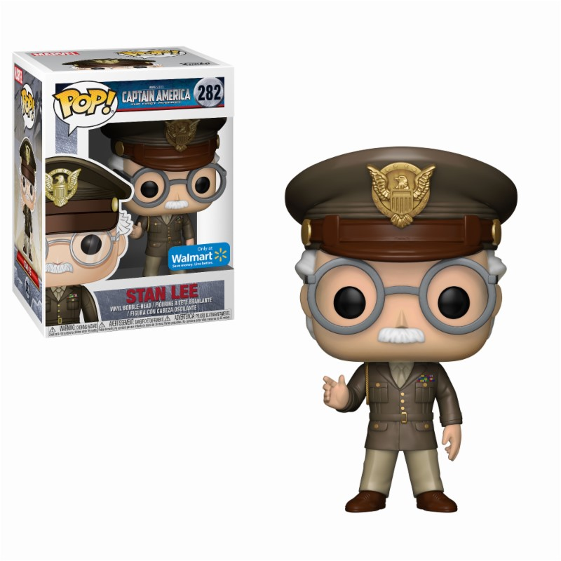 Pop! Marvel: Stan Lee Cameo Army General Exclusive Edition 10 cm