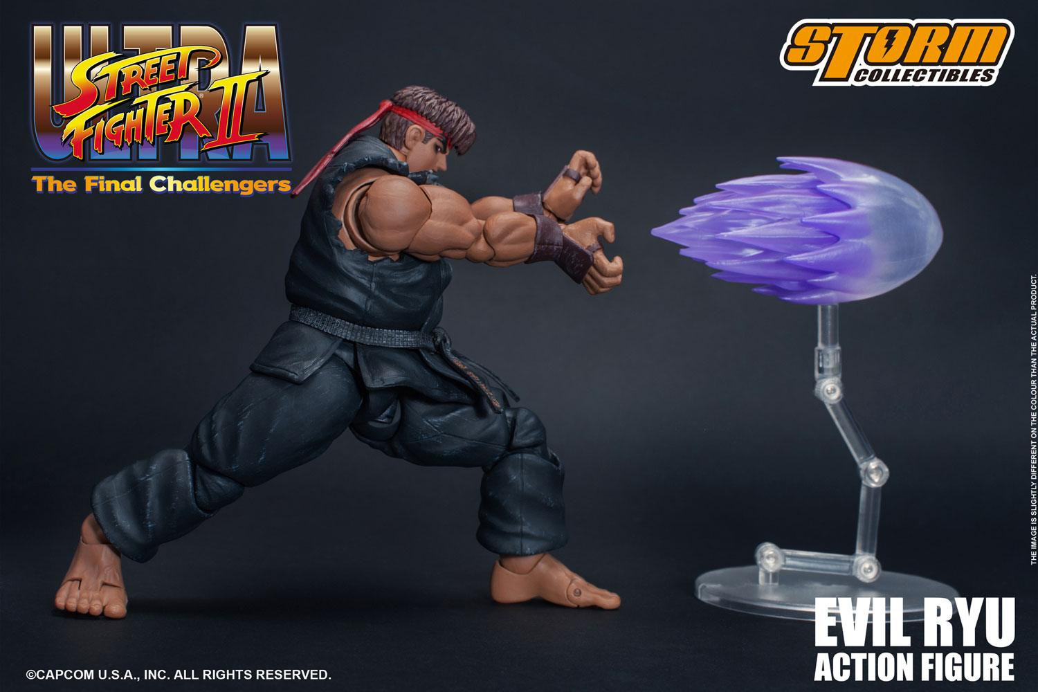 Ultra Street Fighter II: The Final Challengers Action Figure 1/12 Evil Ryu