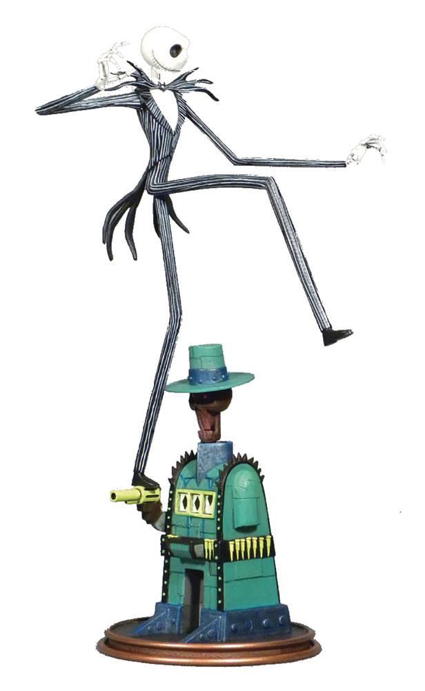 Nightmare before Christmas Gallery PVC Statue Oogie's Lair Jack 25 cm