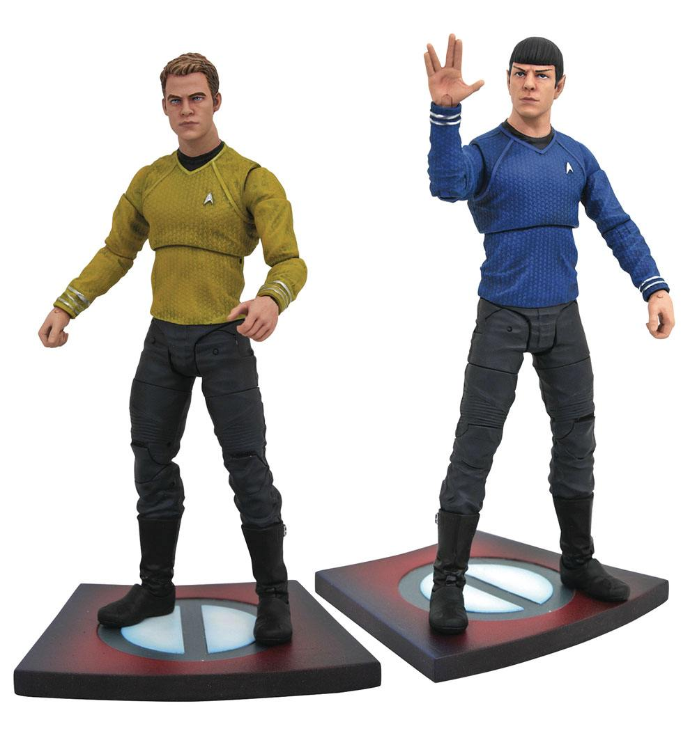 Star Trek Into Darkness Select Action Figures 18 cm Series 1 Pack