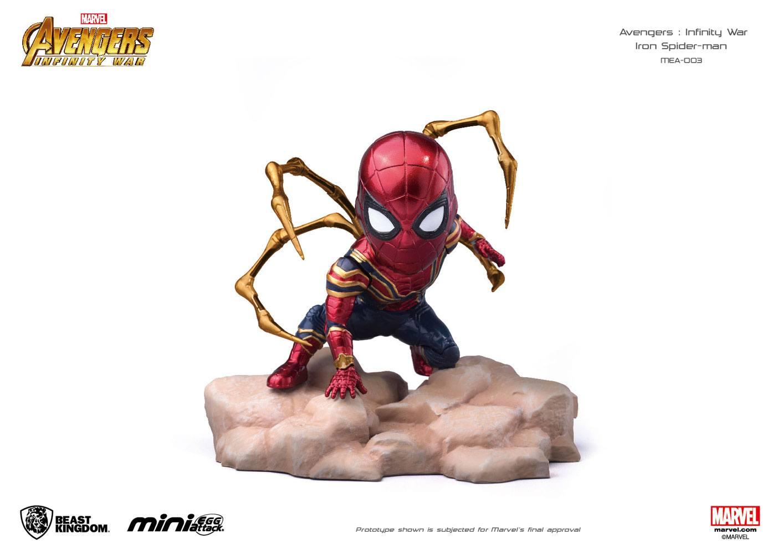Avengers Infinity War Mini Egg Attack Figure Iron Spider 9 cm