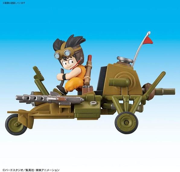 Dragon Ball: Mecha Collection - Vol.4 Son Gokus Jet Buggy Model Kit