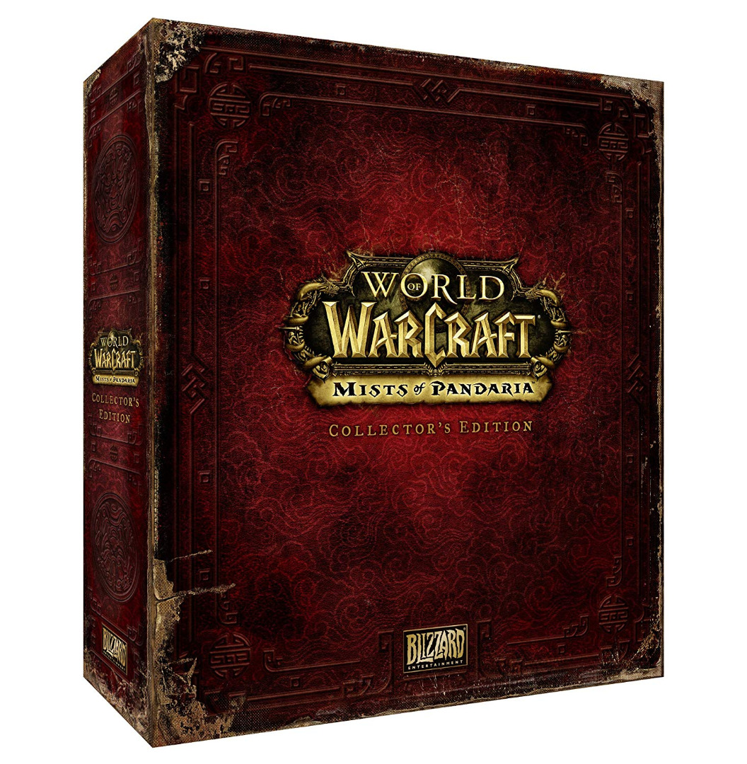 World of Warcraft: Mists of Pandaria - Collector's Edition (PC DVD) (Novo)