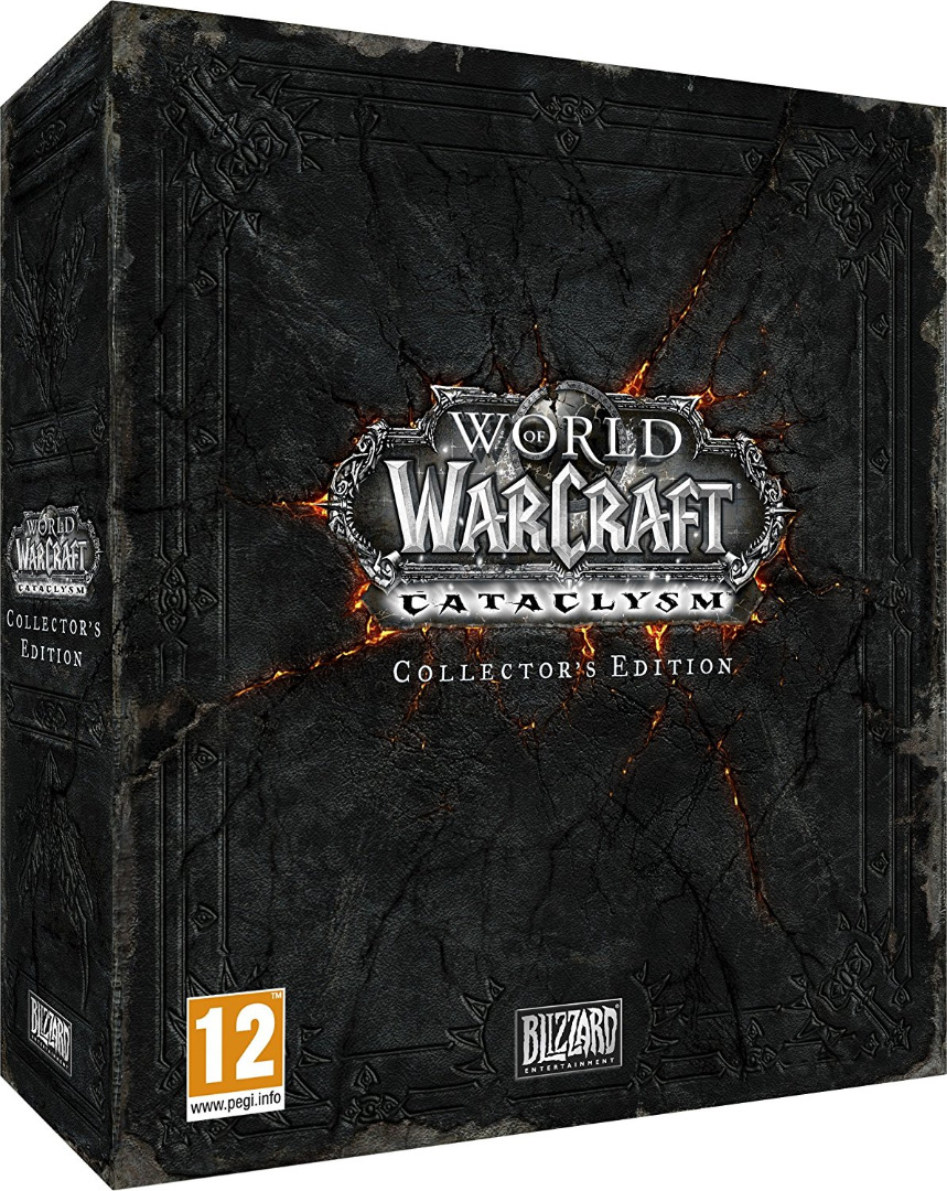 World of Warcraft Cataclysm Collectors Edition (PC DVD) (Novo)
