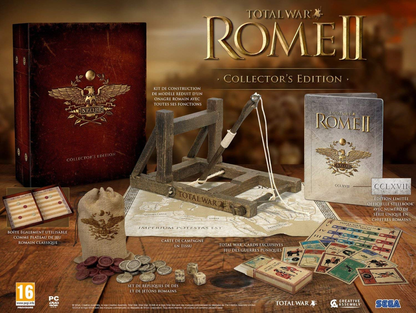 Total War Rome 2 Collectors Edition (PC) (Novo)
